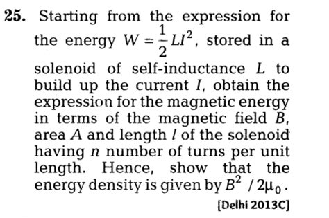 expression for current through an inductor important questions for cbse class 12 physics eddy currents and self and induction
