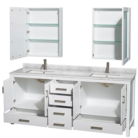 shop for white contemporary bath vanities bathroom