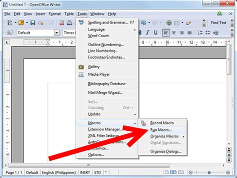 printing address labels with openoffice how to create an openoffice macro 10 steps with pictures