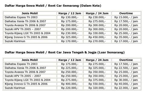 Rental Murah Isuzu Di Semarang rental sewa mobil murah di semarang new cars 2011 2012