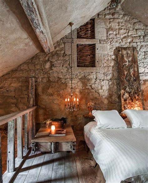 loft bedrooms pinterest rustic stone bedroom loft my style pinterest