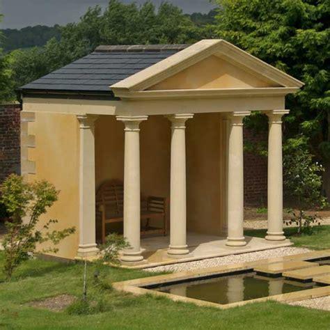 pavillon aus stein gartenpavillon holz rechteckig bvrao