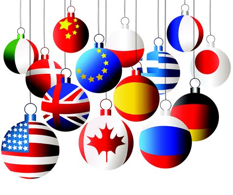 28 best international ornaments red international