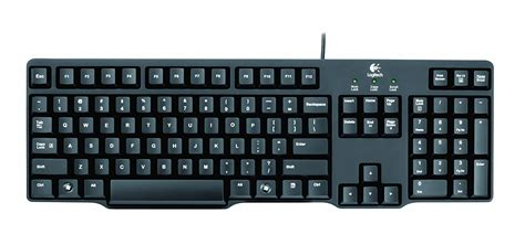 Keyboard Logitech K100 Usb 56 on logitech k100 classic ps 2 wired keyboard black rs 390 at in
