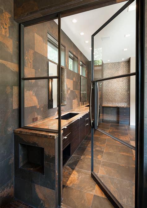 Steel Shower Doors Portella Custom Steel Doors And Windows