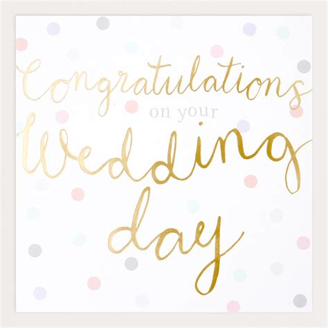 Wedding Congratulations On by Congratulations On Your Wedding Day Www Pixshark