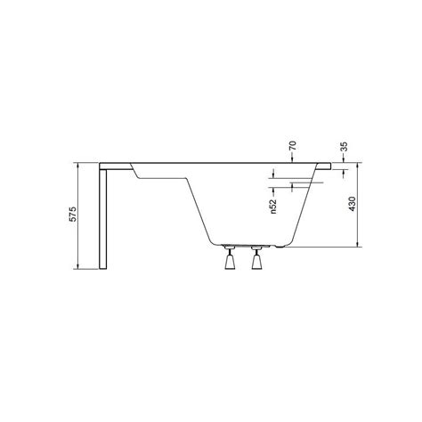baignoire 140cm baignoire musa 140 140 cm baignoire salle de bain design