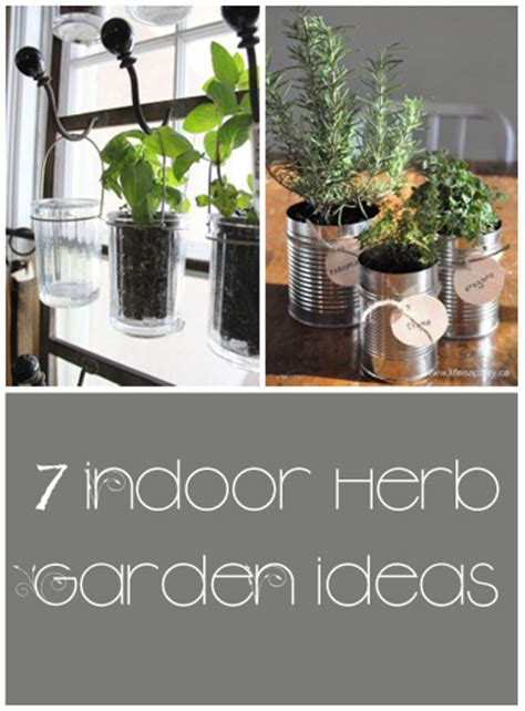 Indoor Herb Garden Ideas 7 Great Ideas For An Indoor Herb Garden My List Of Lists