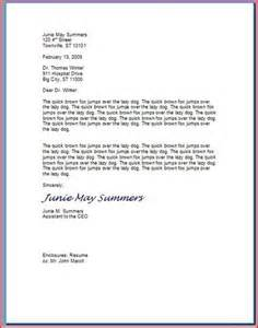 how to type a professional letter business letter format a professional and letters