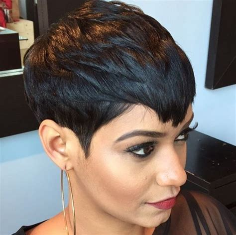 the best pixie cut for black hair best 25 black hairstyles 2015 ideas on pinterest