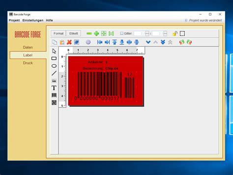 Etiketten Drucken Chip by Barcode Forge Chip