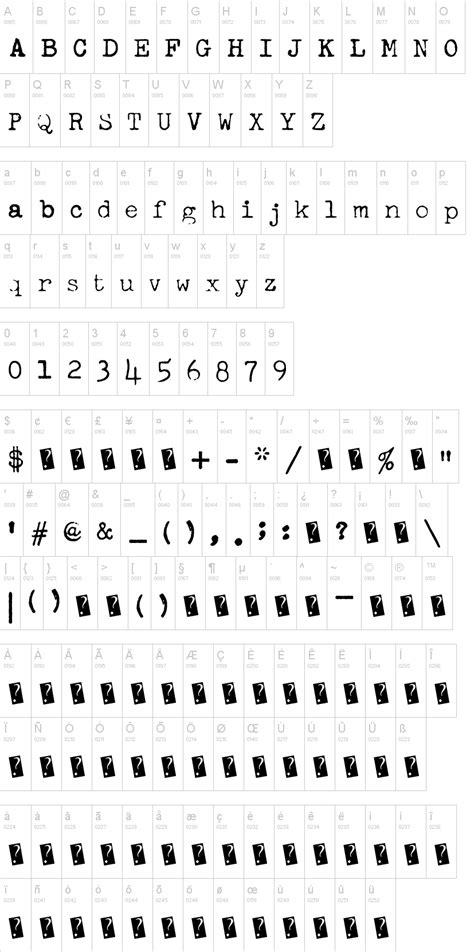 dafont typewriter freeky typewriter font dafont com