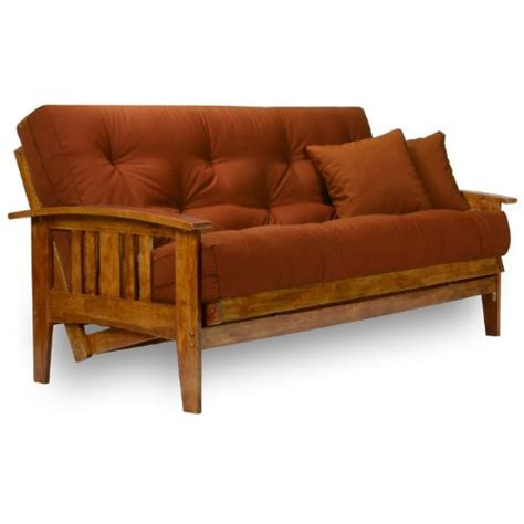 Wood Futon by Westfield Wood Futon Frame Size