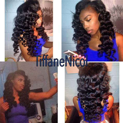 versatile sew in atlanta sew in with virgin remy hair and wand curls atlanta sew