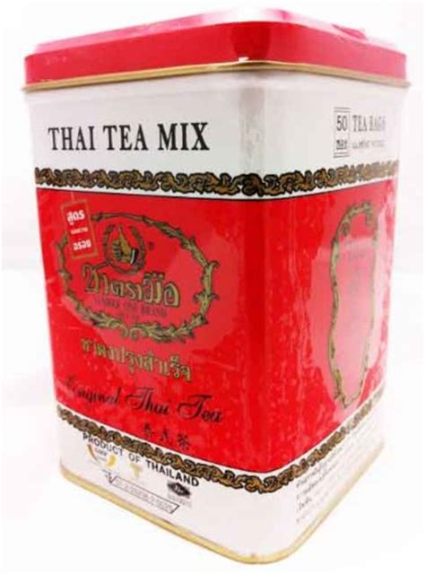 Thaitea Original 1 galleon thai tea mix no 1 thai tea original 50 sachets