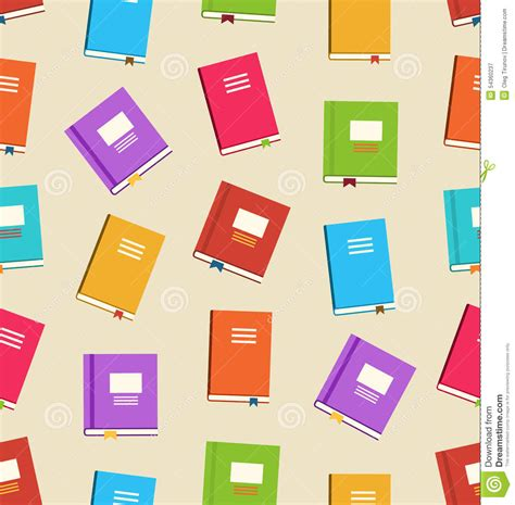 pattern html book seamless pattern with books vector illustration