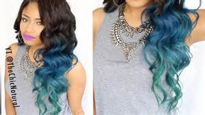 how to color out of hair how to mermaid hair color diy