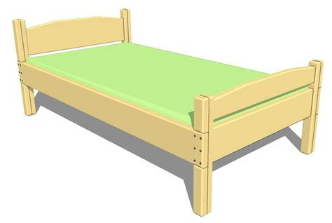 toddler bed frame plans size toddler bed plans woodideas