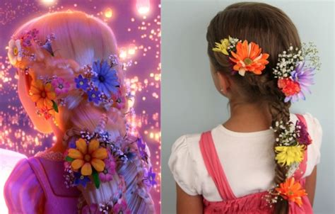 Rapunzel Hairstyle the rapunzel braid disney princess hairstyles