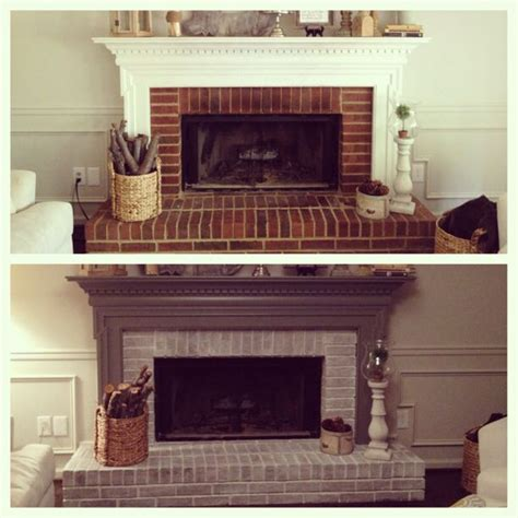 Before And After Fireplaces by Fireplace Before And After For The Home