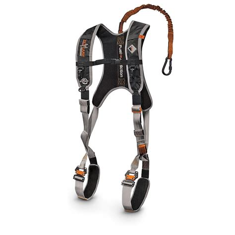 big harness big 174 diamondback deluxe safety harness 292408 safety harnesses at sportsman s