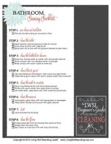 Bathroom Cleaner List Cleaning Supply 101 Cleaning Guide Beginner S