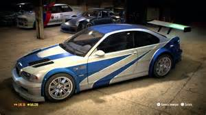 need for speed 2015 bmw m3 gtr quot most wanted quot vinyl car