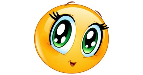 big green eyes symbols emoticons