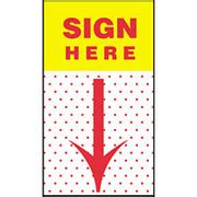 Notes Post It Sign Here 680 9 Per Box Of Dozen self stick notes flags post it quot sign here quot flags 50 pack 3m 680 9 staples coupon codes