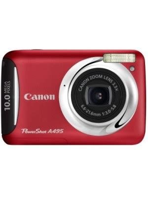 canon a495 mirrorless camera(red) price in india on 7th