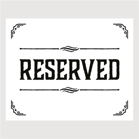 Reserved Table Sign Template Word Brokeasshome Com Table Sign Template