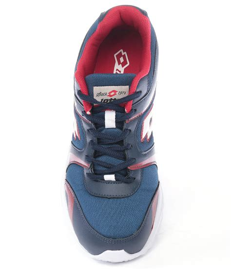 Pacer Navy by Lotto Pacer Navy Shoes Buy From Shopclues
