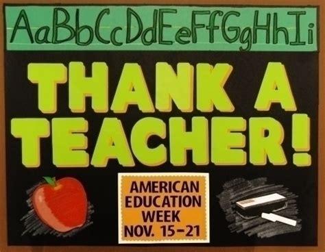 themes for education week make american education week poster teacher appreciation