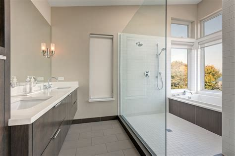 shower next to bath impressive hansgrohe shower in bathroom contemporary with
