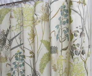 Neutral Curtains Window Treatments Designs Neutral Window Curtains Botanical Inspired Drapery Panels