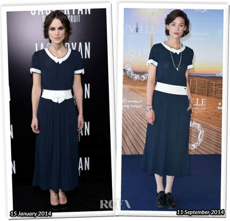 Who Wore Better Carpet Style Awards by Who Wore Chanel Better Keira Knightley Or Astrid Berges