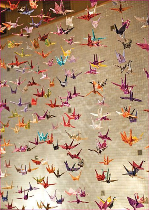 Origami Crane Legend - 17 best images about carnegie textiles folds collection on