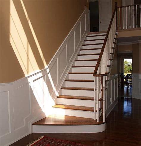 beadboard on stairs wainscoting on wainscoting wainscoting ideas