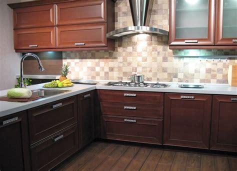 backsplash ideas for dark oak cabinets glass tile backsplash ideas with dark cabinets florist h g