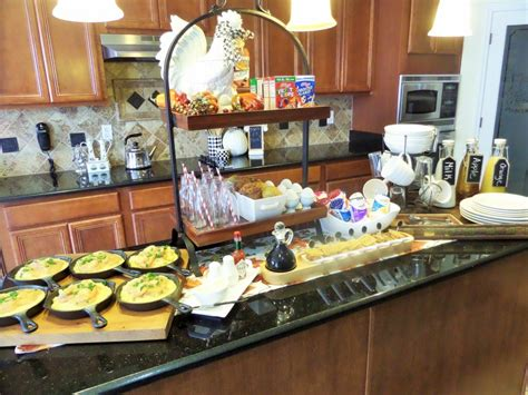 easy breakfast buffet ideas easy diy fall breakfast idea s