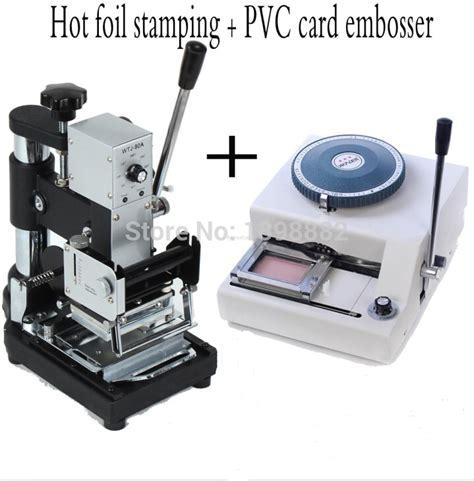 pvc card machine 68 characters pvc card machine letterpress goffratura