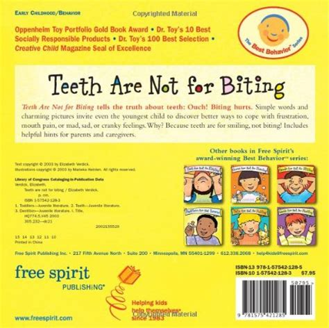 are not for hitting board book best behavior series teeth are not for biting board book best behavior