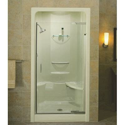 Shower Doors For Acrylic Showers Pivot Glass Door On Acrylic Shower Bathrooms