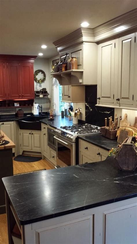 Brown Soapstone Countertops My Country Kitchen Corner Soapstone Sink Soapstone