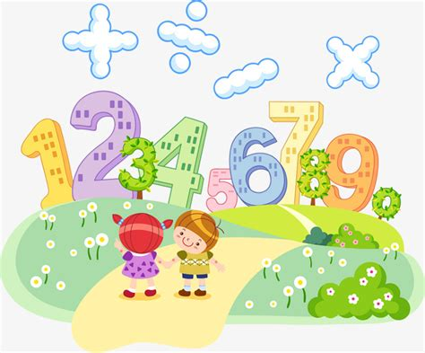clipart matematica vector children discuss math vector the way child png