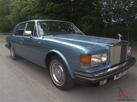 1982 rolls royce silver spirit 1982 rolls royce silver spirit blue only 78000