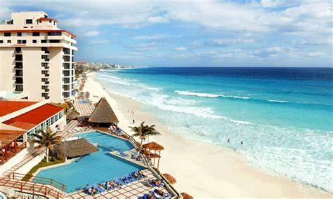 all inclusive bellevue paradise canc 250 n trip with airfare in cancun groupon getaways