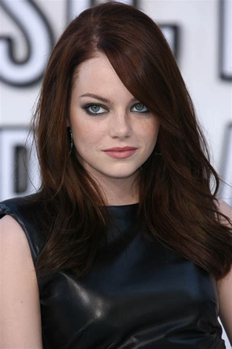 2016 emma stone hair color trends emma stone s trendy hair colors for 2017 best hair color