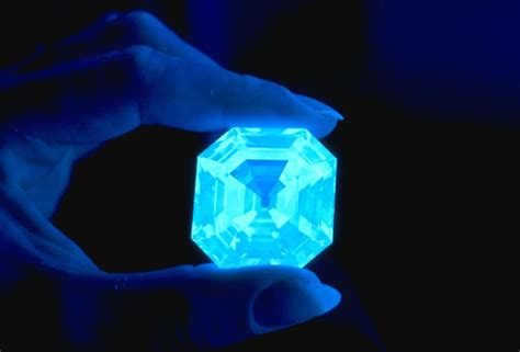 diamonds uv light research in mineralogy mineral sciences