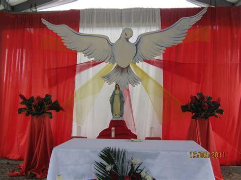 arreglo del templo para la celebracion de unm decoracion altar virgen maria cebril com